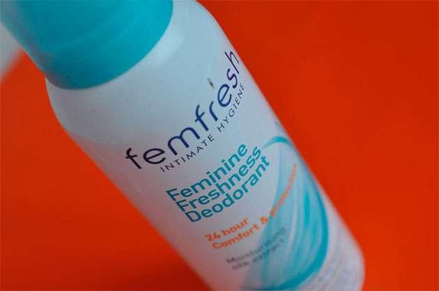 фемифреш дезодорант