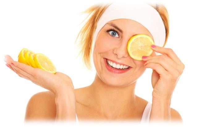 протирание лимоном