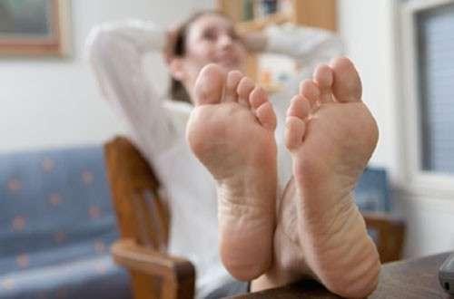 применение для ног