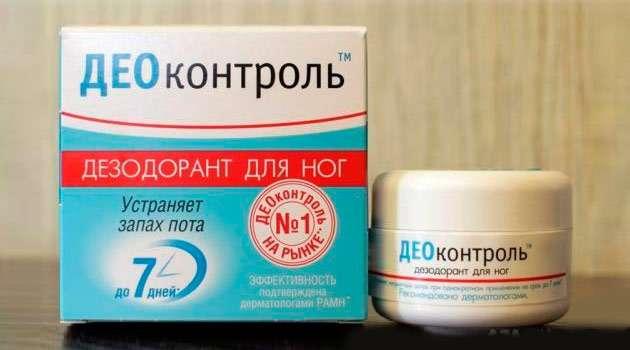 дезодорант деоконтроль