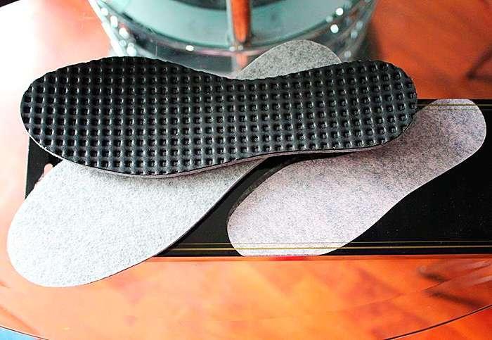 внешний вид стелек для ног от пота