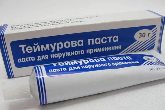теймурова паста