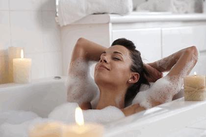 раслабляющая ванна