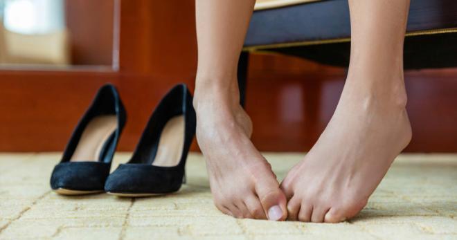 потливость ног